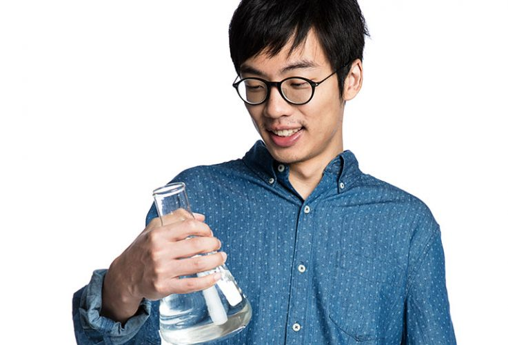 Caltech graduate student in sustainability Hao Zhao