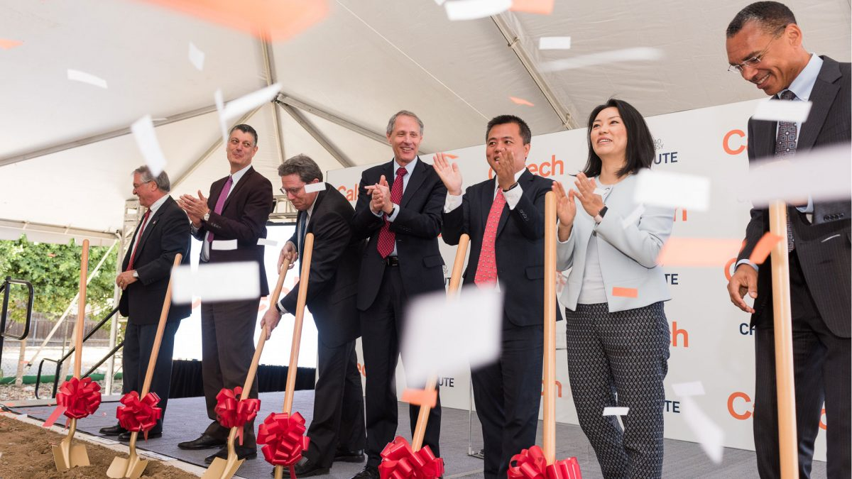Tianqiao and Chrissy Chen Neuroscience Research Building Groundbreaking